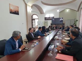 دومین جلسه هیئت مدیره در سال97 به میزبانی دفتر نمایندگی شهرستان طبس
