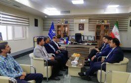 نشست رییس و اعضا هیات مدیره سازمان با مدیرکل فرودگاه خراسان جنوبی