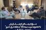 نشست مشترک رییس سازمان و مدیریت بیمه دانا در شرق کشور